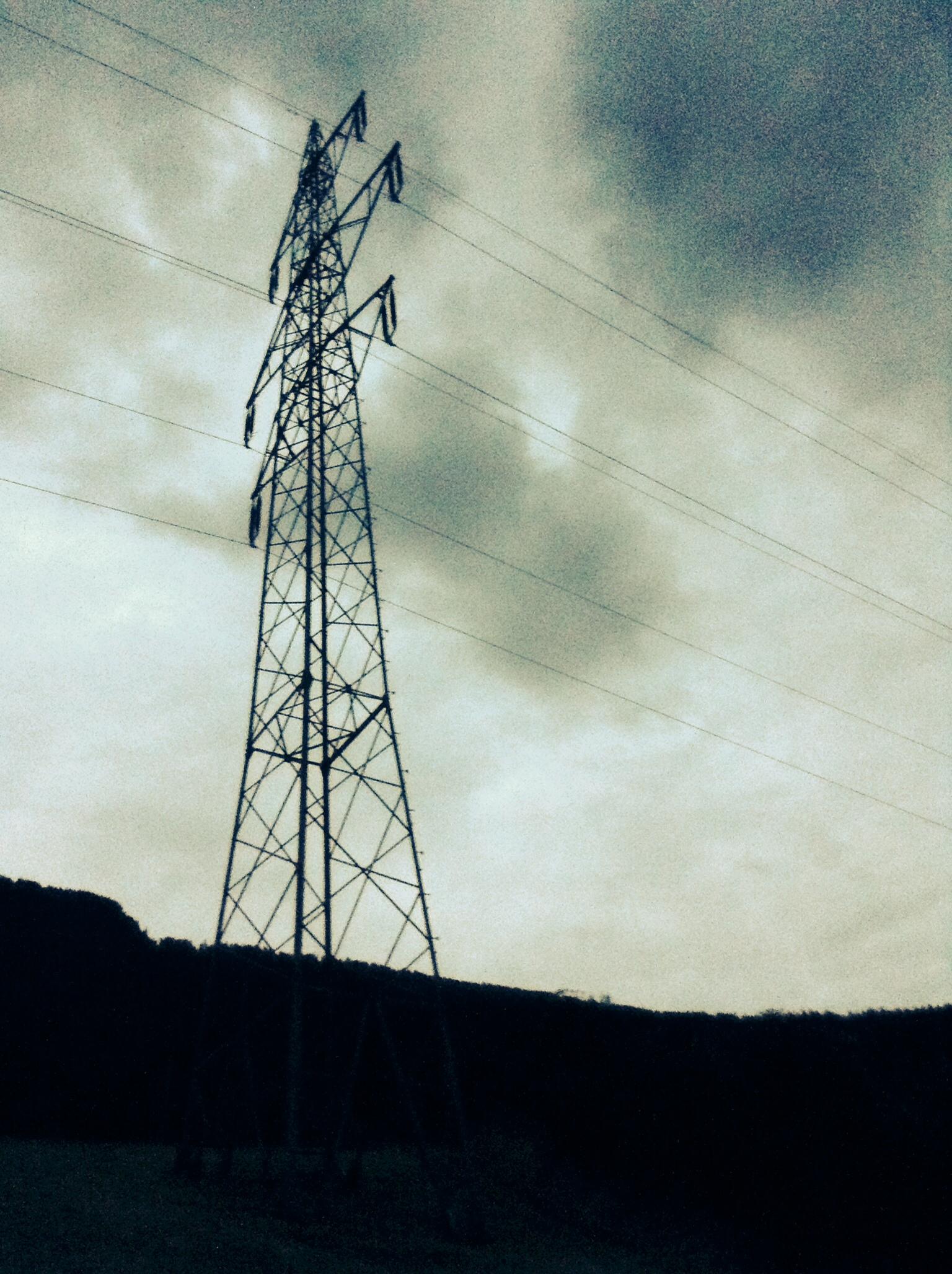 Power lines at Feld am See, Kärnten