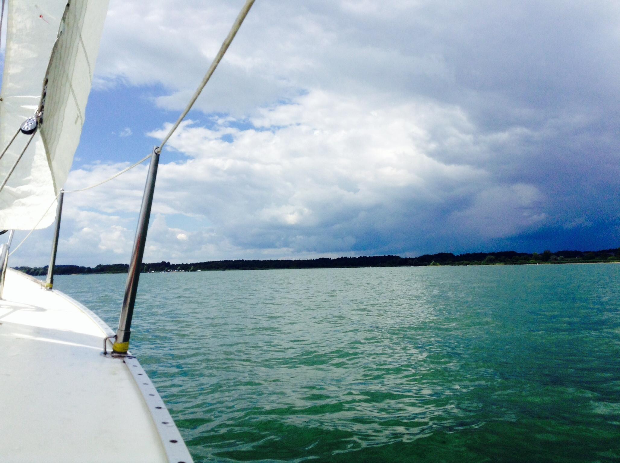 sailing on chiemsee
