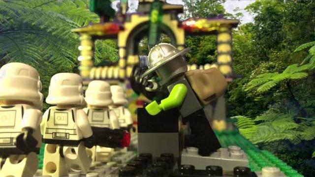 Die vier Klonkrieger und die geheime Insel – LEGO Stop Motion Film (Made on iPhone)
